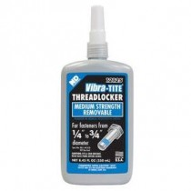 Vibra-Tite 12125 Blue Medium Strength Threadlocker 250mL Bottle
