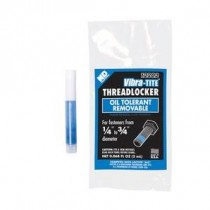 Vibra-Tite 12202 Blue Medium Strength Threadlocker Oil Tolerant 2mL Tube