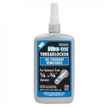 Vibra-Tite 12225 Blue Medium Strength Oil Tolerant Threadlocker 250mL Bottle