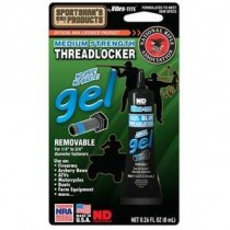 Vibra-TITE 12508 Sportman Bench Blue Medium Strength Gel Threadlocker 8mL Tube