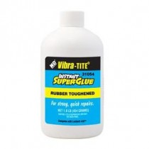 Vibra-Tite 31054 Black Toughenend Instant Super Glue Bottle 1Lb