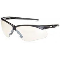 12 Pack Jackson Safety 3000357 V30 Nemesis Safety Glasses Black Frame / Indoor/Outdoor Clear Lens (19807)(25685)