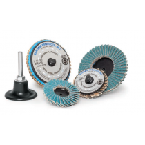 "2"" 36 Grit Mini Quick Change Flap Disc, 50/Box"